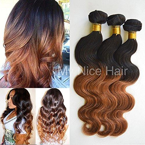 3 Lots 16 18 50,8 cm brésiliens grade 5 A Ombre 1b #/30 # Extensions cheveux Humains Remy Tissage Body Wave 300 g, 2–4 jours Livraison Rapide