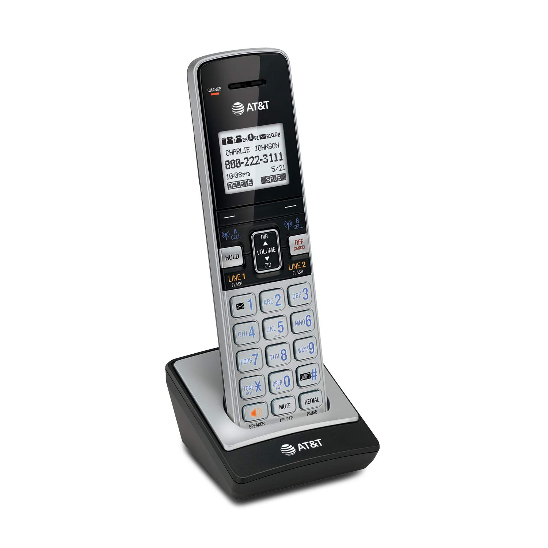 AT & T DECT 6.0 Teléfono con identificador de llamadas/llamada en espera: Amazon.es: Electrónica