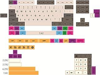 Keycaps FYINGKE 150 مفاتيح/مجموعة Keycap العظام الكبيرة ل MX. التبديل لوحة المفاتيح الميكانيكية. بطبقة صبغ subbed قبعات مف...