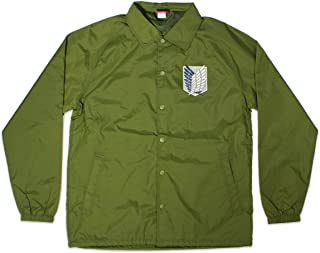 Attack on Titan Survey Corps Nylon Adult Track Jacket