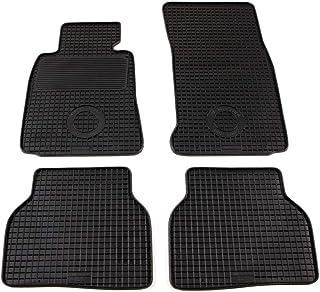 UnfadeMemory Alfombrillas para Coche 4 Piezas con Superficie Antideslizante para BMW 5 Series ,a Medida Goma,Negro E39