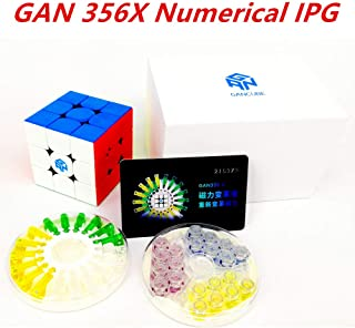 cuberspeed GAN 356X Numerical IPG Stickerless gan 356 x Speed Cube