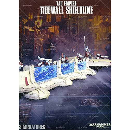 Tau Empire Tidewall Shieldline by Warhammer 40,000 - Tau