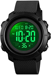 SNE Boys Watch Digital Sports Waterproof Military Back Light Teenager Watch (Age for 11-15)