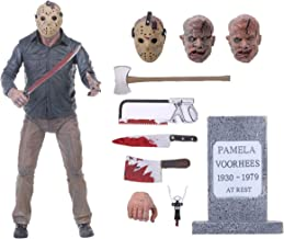 BODAN NECA Action Figure Friday The 13th - Ultimate Part 4 Jason Voorhees Action Figure / Statues Model Doll Horror Collection Gifts - PVC 7