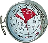 Winco Grill Surface Thermometer with Pot Clip, 2-Inch
