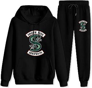 Casual Outdoor Active Sweatshirt for Womens Ladies Girls Riverdale Southside Long Sleeve Hoodies Hoodie Cat Ear Ms