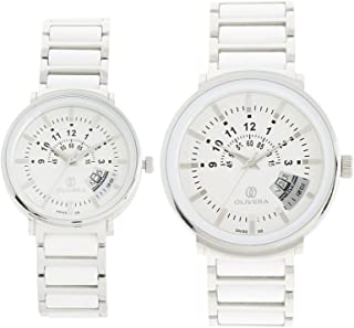 Olivera Watch Set For Unisex Analog Stainless Steel - OG1357-OL1357