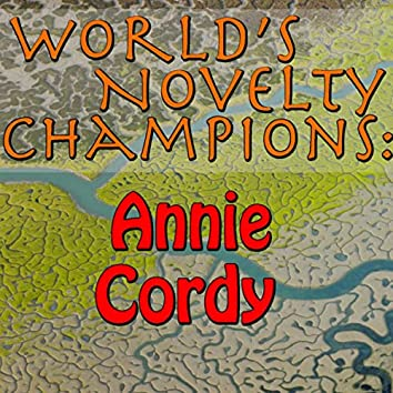 World's Novelty Champions: Annie Cordy