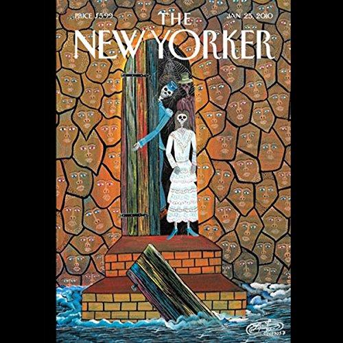 The New Yorker, January 25, 2010 (Dana Goodyear, David Owen, Hendrik Hertzberg) audiobook cover art