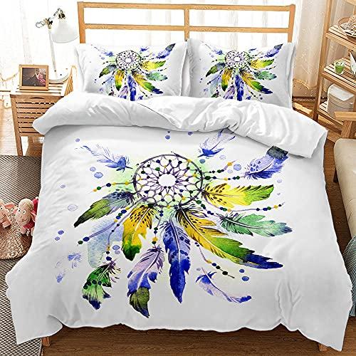 Bedclothes-Blanket Funda nórdica 3D Lila,Caso 3D Conjunto de Tres Piezas de Star Sueños Airmativos Star-3_200 * 230
