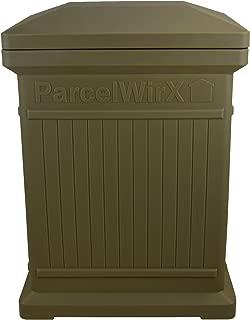 RTS Companies Inc. 550200401A5481 Parcelwirx Standard Vertical Delivery Drop Box w/Lift Off Lid, Oak