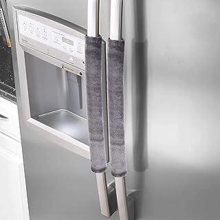 اغطية واقية لمقبض ادوات واجهزة المطبخ للمحافظة على نظافة مقابض الاجهزة مجموعة من 3 قطع لون رمادي من كومفورفيل