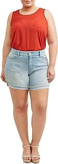 Terra and Sky Women's Plus Size Denim Classic Short