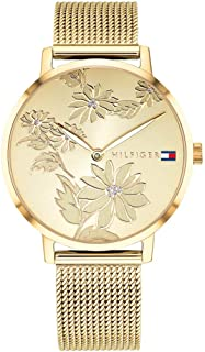 Tommy Hilfiger Womens Quartz Wrist Watch, Analog and Stainless Steel- 1781921