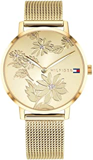 Tommy Hilfiger Womens Quartz Watch, Analog Display and Stainless Steel Strap 1781921
