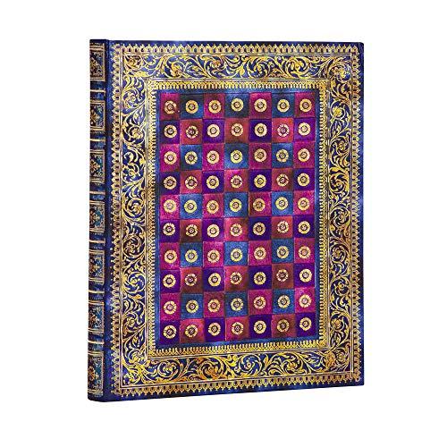 Paperblanks Notizbuch mit Lesebändchen & Innentasche | Safawidisch | Mini (180 x 130 mm) | 144 Seiten | Liniert