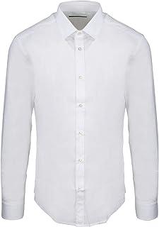 BRIAN DALES Luxury Fashion Mens ST8000BS851 White Shirt | Spring Summer 20