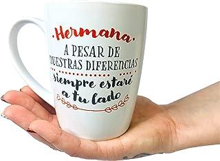 Taza Original de Desayuno para Regalar a Amigas Cuñadas Hermanas Tias - Tazas Originales para Regalar Dias Especiales y Cu...
