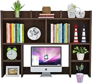 Dfghbn Étagère de rangement de bureau autonome, étagère de rangement pour bureau et maison, bibliothèque pour décoration (...