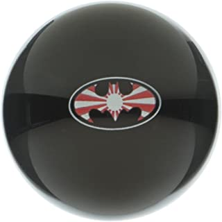 American Shifter 106191 Black Shift Knob with M16 x 1.5 Insert (Rising Sun Batman)