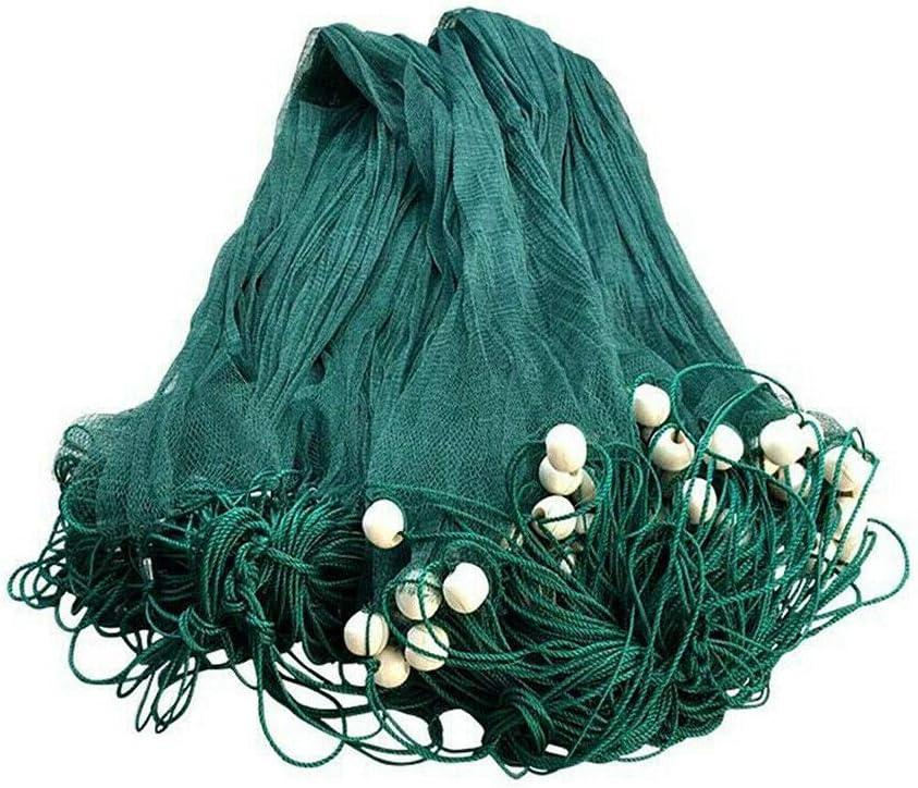 DYRABREST Hand Made Popular overseas Beach Seine Drag Nylon 2cm Nets unisex
