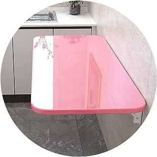 Table Murale Pliante à abattant Bureau d'ordinateur Portable Flottant Table Suspendue Bureau d'ordinateur Table pour Enfan...