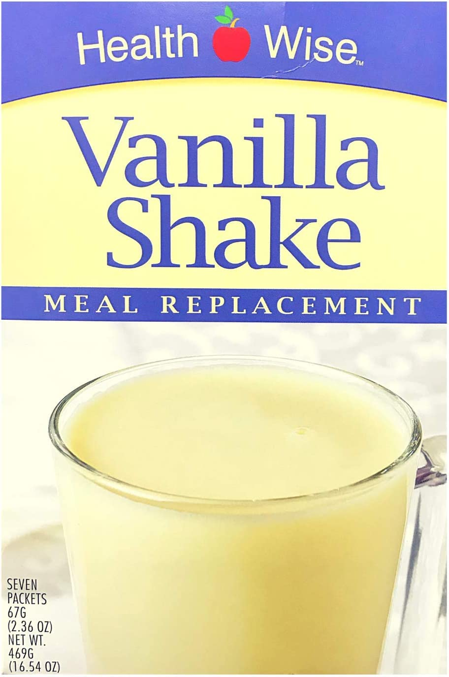 Max 40% OFF Free Shipping Cheap Bargain Gift HealthWise - 35 Grams of Protein Replacement Vanilla Meal Shak