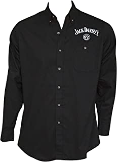 Embroidered Long Sleeve Men's Button up Shirt