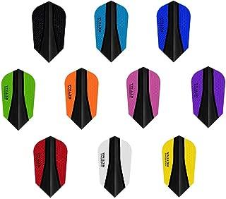 PerfectDarts 5 x Sets Harrows Retina X Mixed Colour Dart Flights Slim