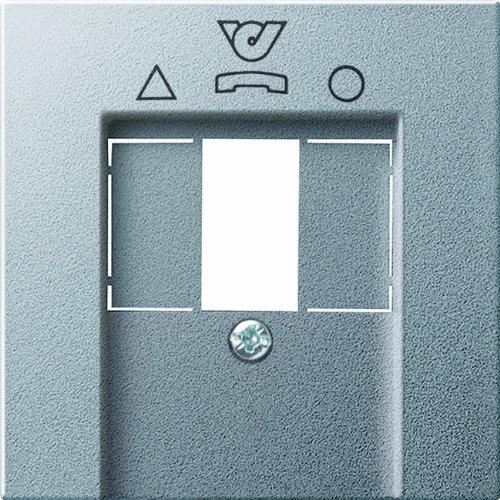 Gira 026026 afdekking voor TDO systeem 55, aluminium