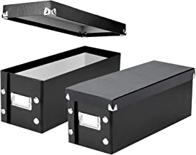 Snap-N-Store CD Storage Boxes, Set of 2 Boxes, Each 13.25