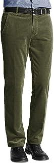 Mens Formal Smart Cord Corduroy Cotton Trousers Casual Big Plus Size Pants 30-50
