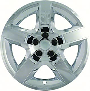 CCI IWC435-17C 17 Inch Bolt On Chrome Finish Hubcaps - Pack of 4
