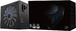 Aerocool P7750 - Fuente de alimentación modular para PC (750W, ATX, 12V, PFC Activo, iluminación RGB, ventilador  inteligente ultra-silencioso 14 cm, 80 Plus Platinum, eficiencia + 90%), color negro