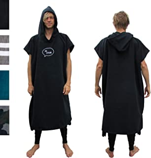 Waterproof Unisex Rip Curl Winter Surf Poncho//Change Robe Black Ctwaw4