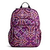Vera Bradley Women's Signature Cotton Campus Backpack, Dream Tapestry, One Size