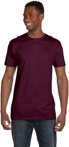 4980 Nano T-shirt pour hommes 1 acier l¨ ger + 1 marron S