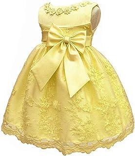 LZH赤ちゃんの女の子は、ノースリーブの王女の花のレースの結婚式の誕生日の催し物のピアノのプレゼンテーションドレス