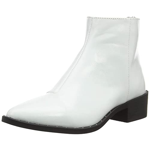 5705eb00fe3 White Ankle Boots for Women: Amazon.co.uk