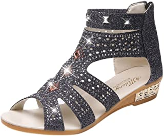 Women Summer Sandals Women Wedge Sandals Fashion Fish Mouth Hollow Roma Shoes