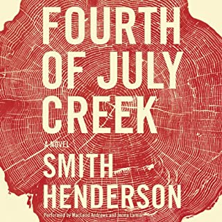 Fourth of July Creek audiobook cover art