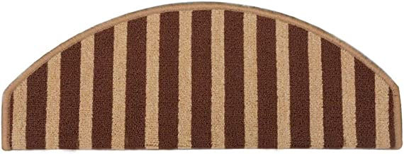 JIAJUAN Stair Carpet Treads Non-Slip Soft Solid Wood Staircase Protection Rugs Pads, 7mm, 2 Styles, Customize (Color : Cur...