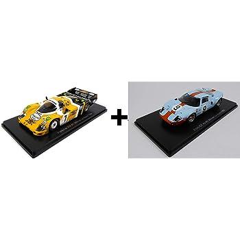 Opo 10 Lot Von 2 Autos Le Mans Spark 1 43 Für Hachette Japon Porsche 956 1984 Nissan R390 1998 03 05 Spielzeug