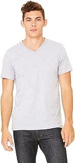 Bella Canvas Unisex Jersey Short-Sleeve V-Neck T-Shirt - ASH - M