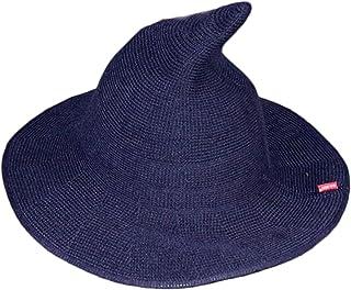 السيدة الساحرة قبعة سبار قبعة كبيرة القطن غزل متماسكة الساحرة قبعة قبعة قبعة الصياد قبعة (Color : 3)