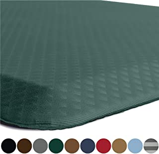 Kangaroo Original Standing Mat Kitchen Rug, Anti Fatigue Comfort Flooring, Phthalate Free, Commercial Grade, Waterproof, Ergonomic Floor Pad for Office Stand Up Desk, 32x20, Hunter Green