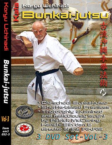 3 DVD Box Koryu Uchinadi - Kata Bunkai-Jutsu
