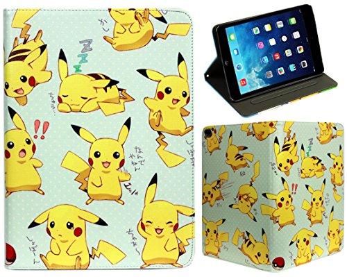 For iPad Pro 10.5/10.2 / Air 3 Pokemon Pikachu Anime Manga Pokeball New Smart Pro Case Cover