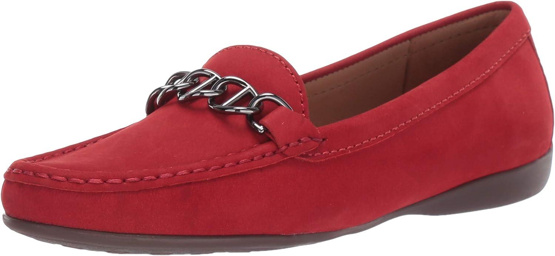 保証 Driver Club USA Women's Leather Loafer Detail Chain 在庫一掃売り切りセール Driving